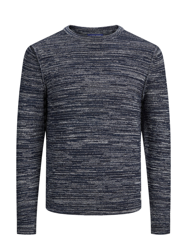 Marlon Navy 4 Crew Neck Men's Jumper