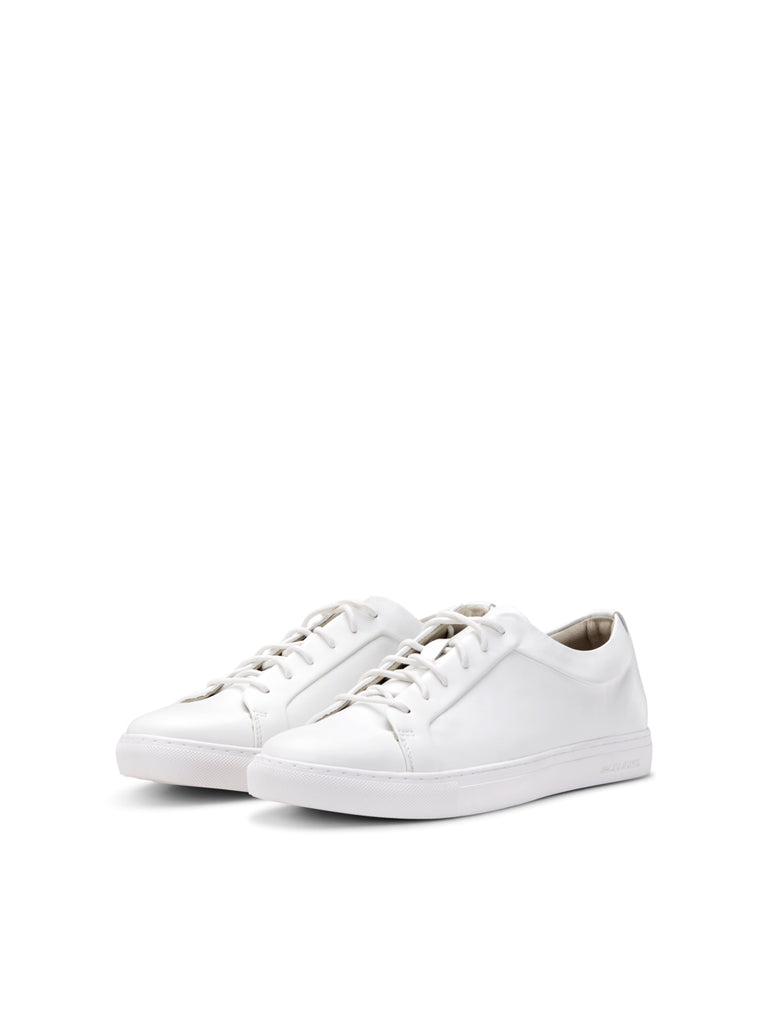 Sputnik Fusion Leather White Men's Trainer