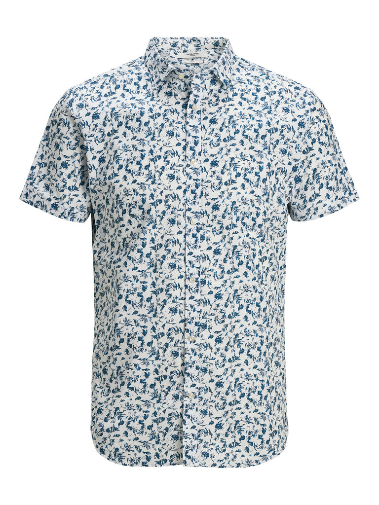 Men's Blackburn Shirt Short Sleeve Blue Depths SU20