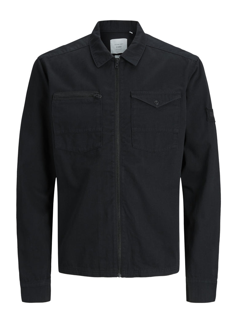 Jack Jones Core JCODrake Black Long Sleeve Shirt