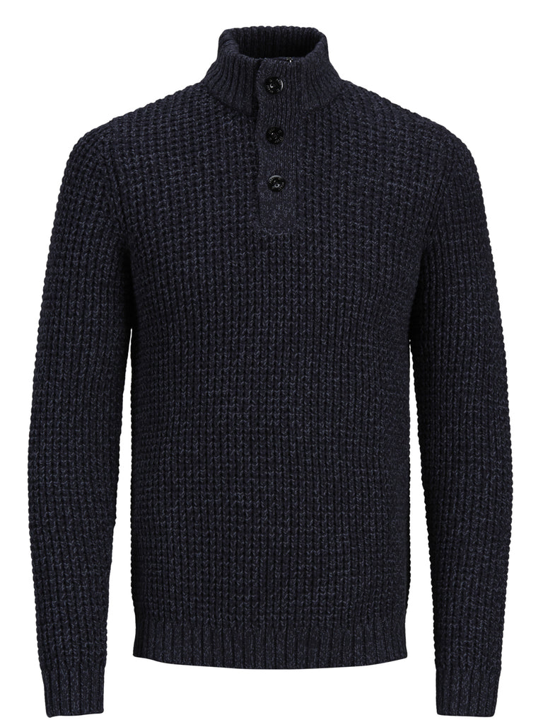 JCORichmond Button Navy Knit