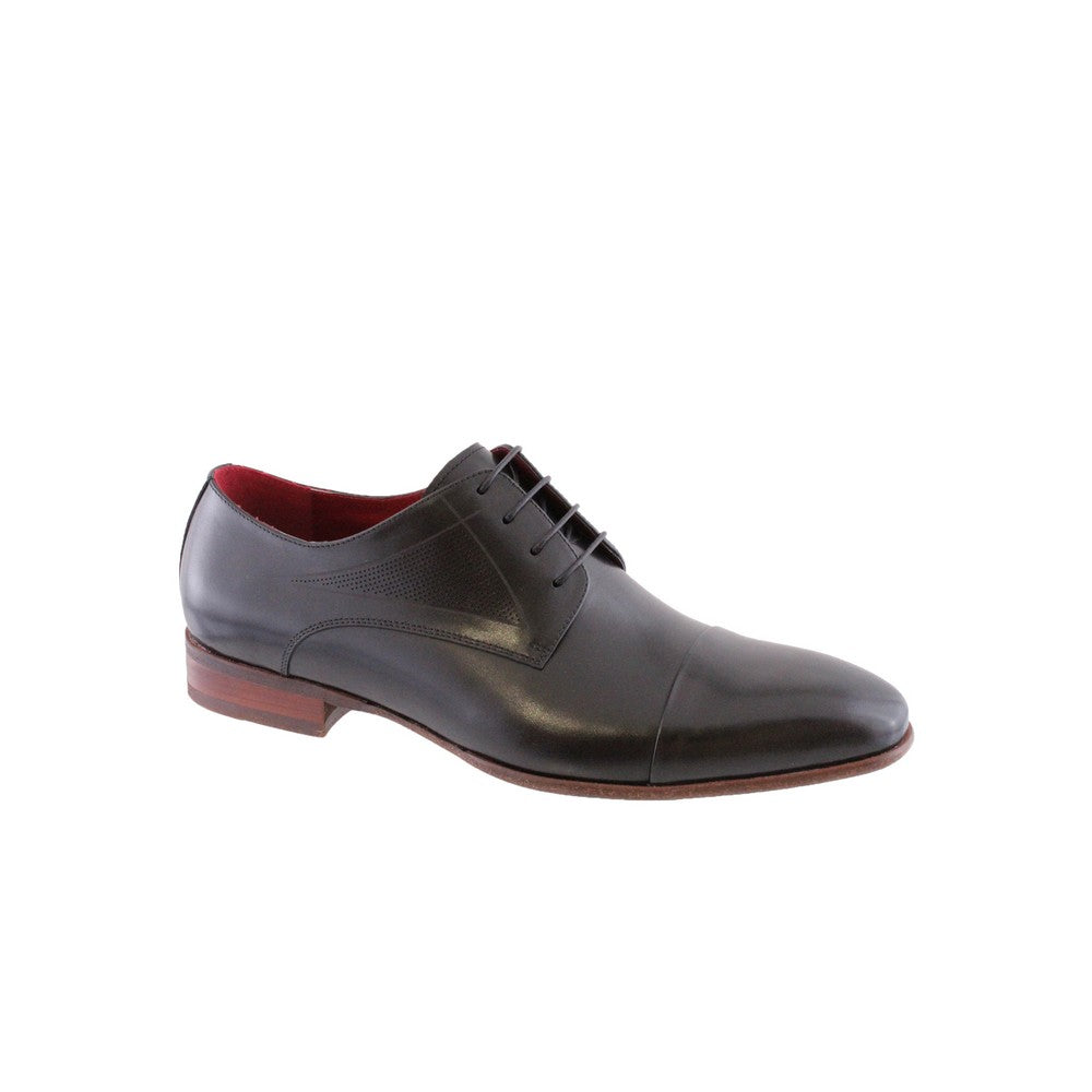 Black Morgan Men's Leather Shoe