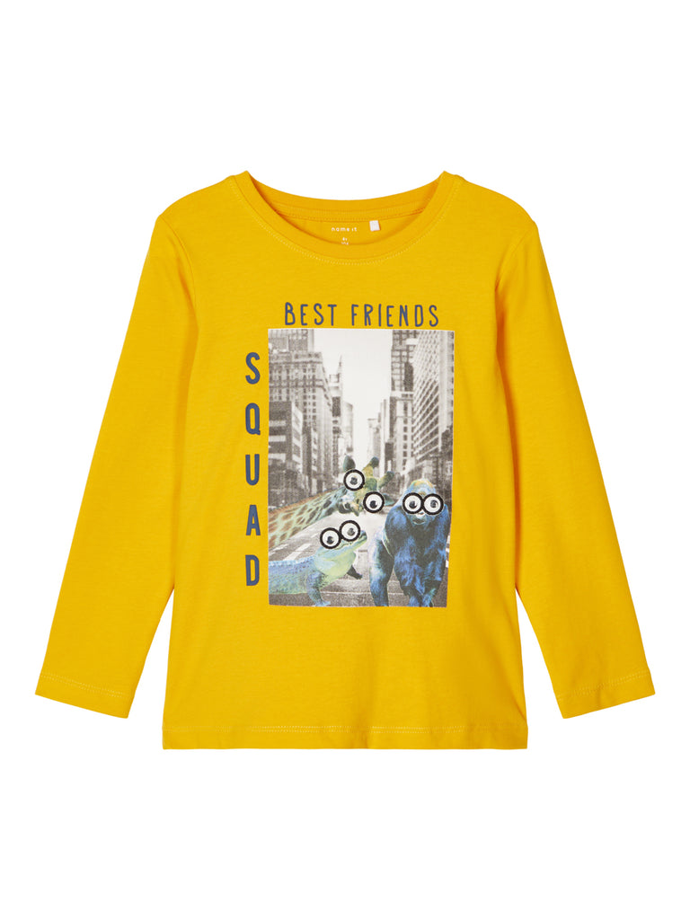 Odar Long Sleeve Top yellow