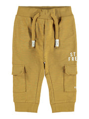 Boy's Lajan Brown Sweat Pant