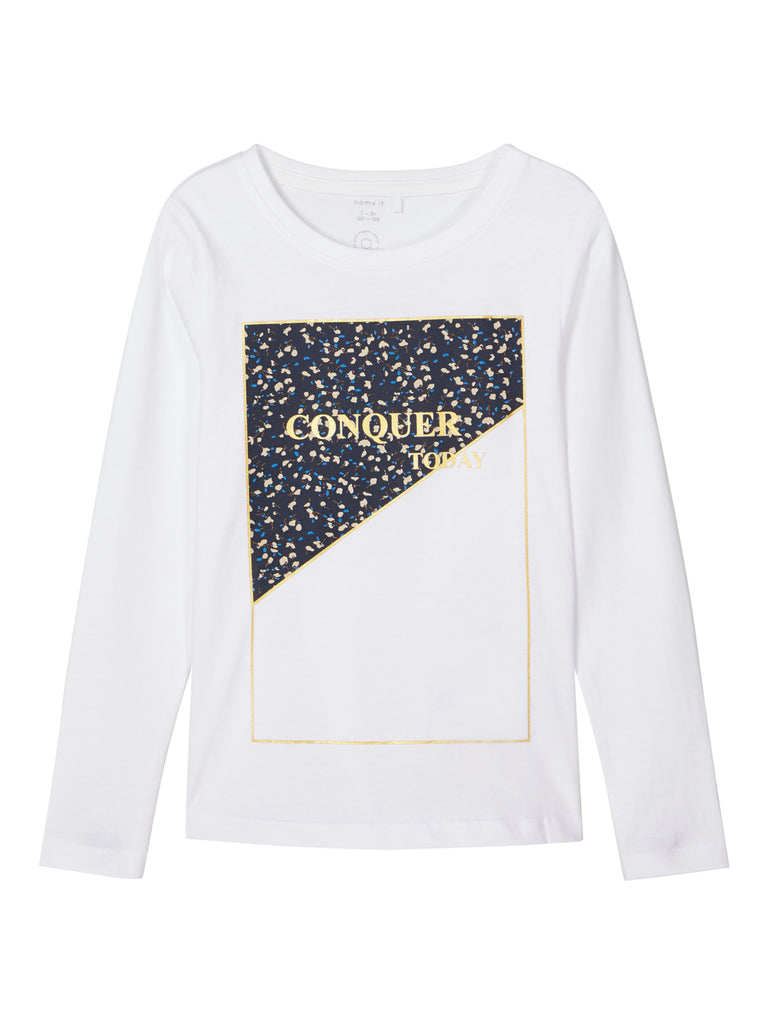 Rasmia Long Sleeve Top wht