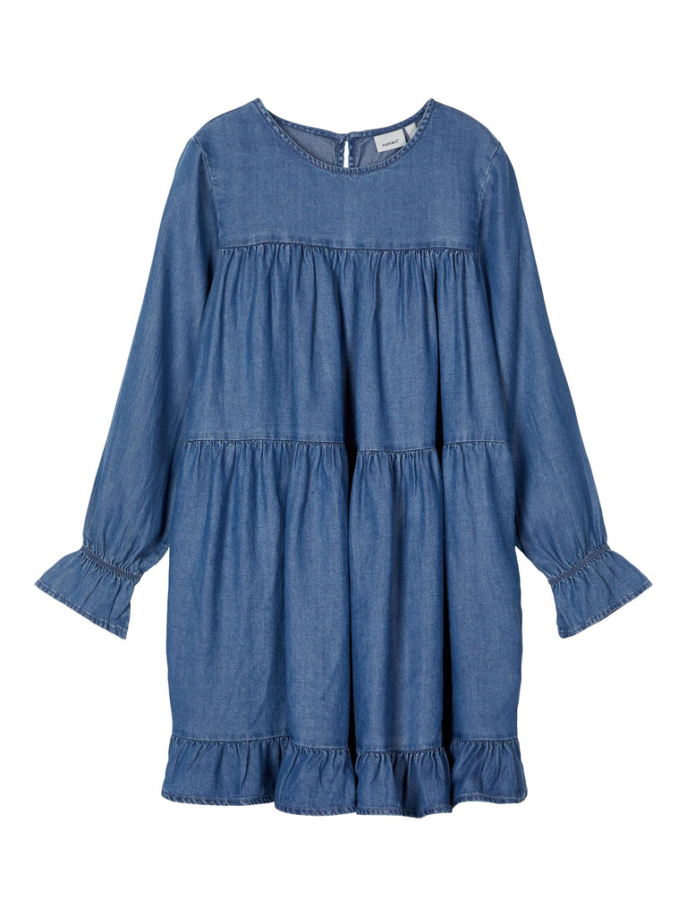 Teetee Long Sleeve Denim Dress