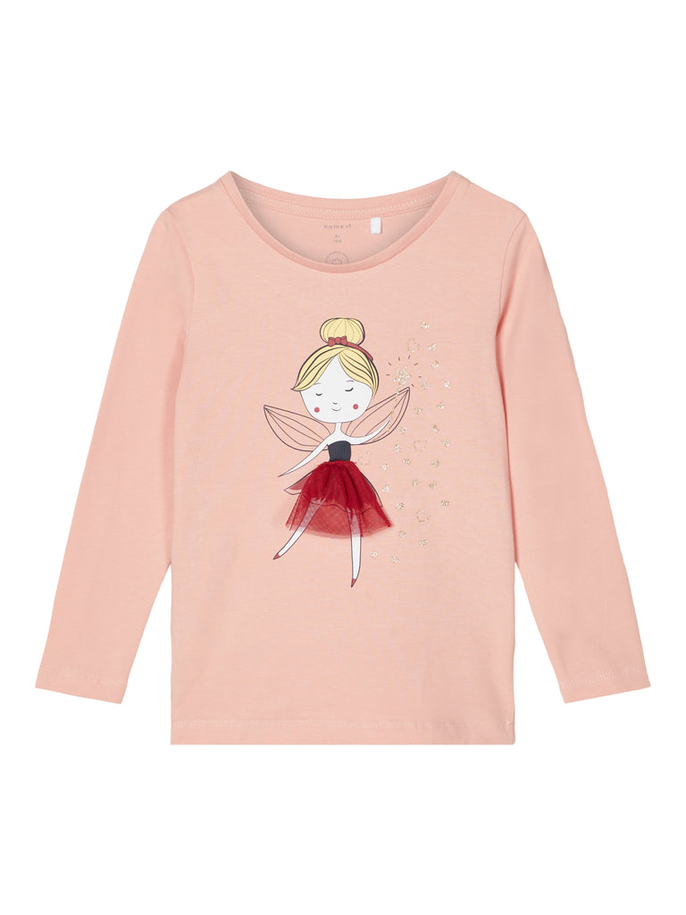 Odassi Long Sleeve Top rose