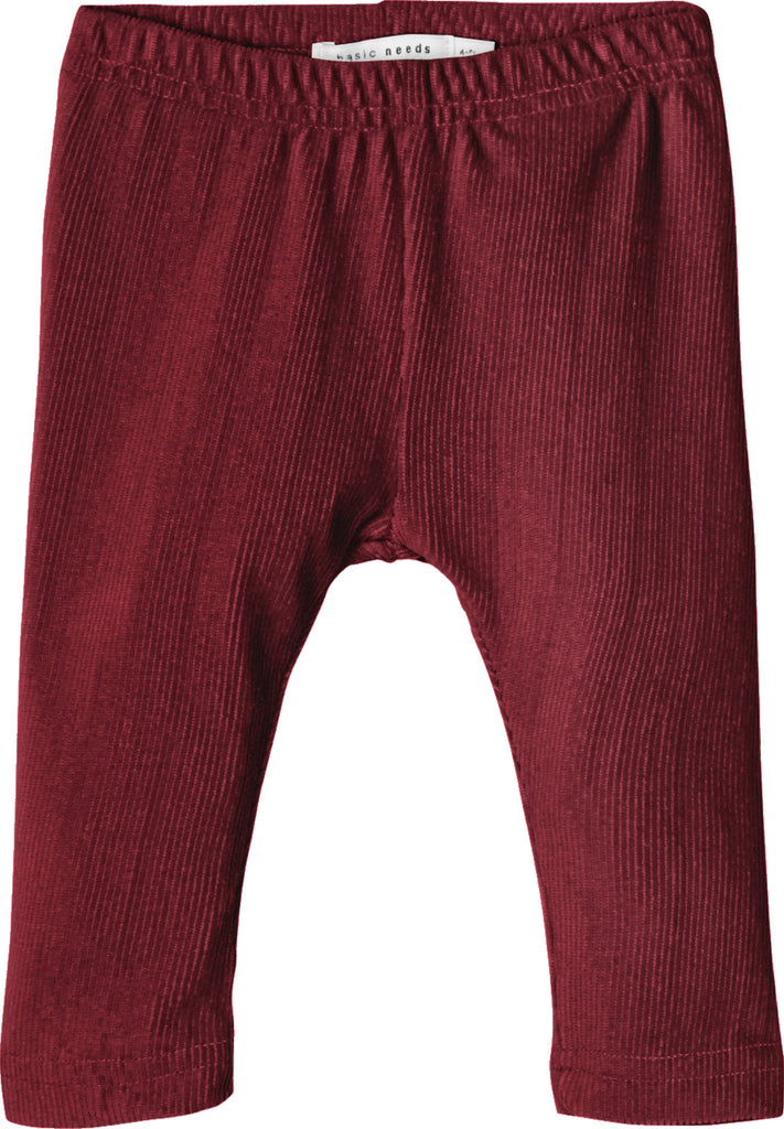 Vivo Solid Legging wine