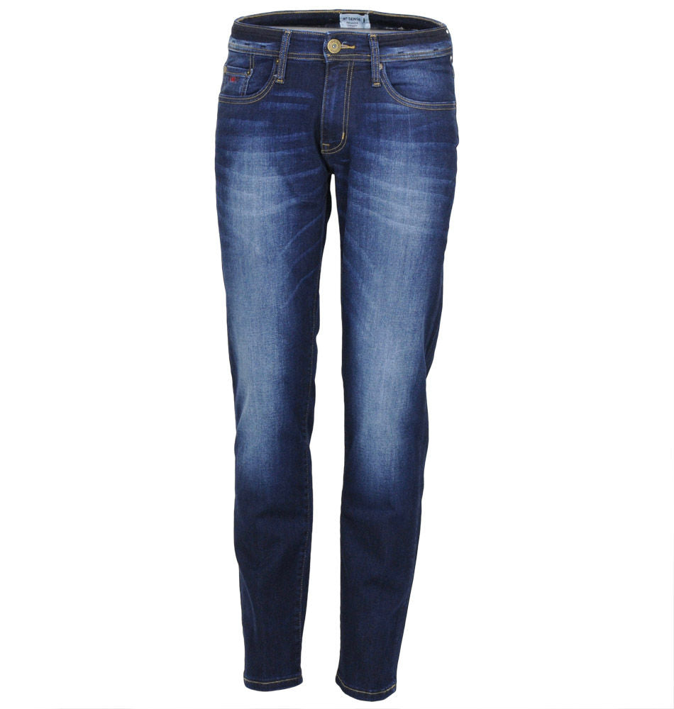 Nevada wash # 2 Straight leg stretch denim jean
