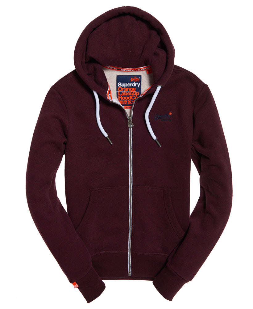 Orange Label Boston Burgundy Ziphood by Superdry