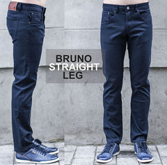 Outrage 5 Pocket Bruno Tapered Fit Chino Navy
