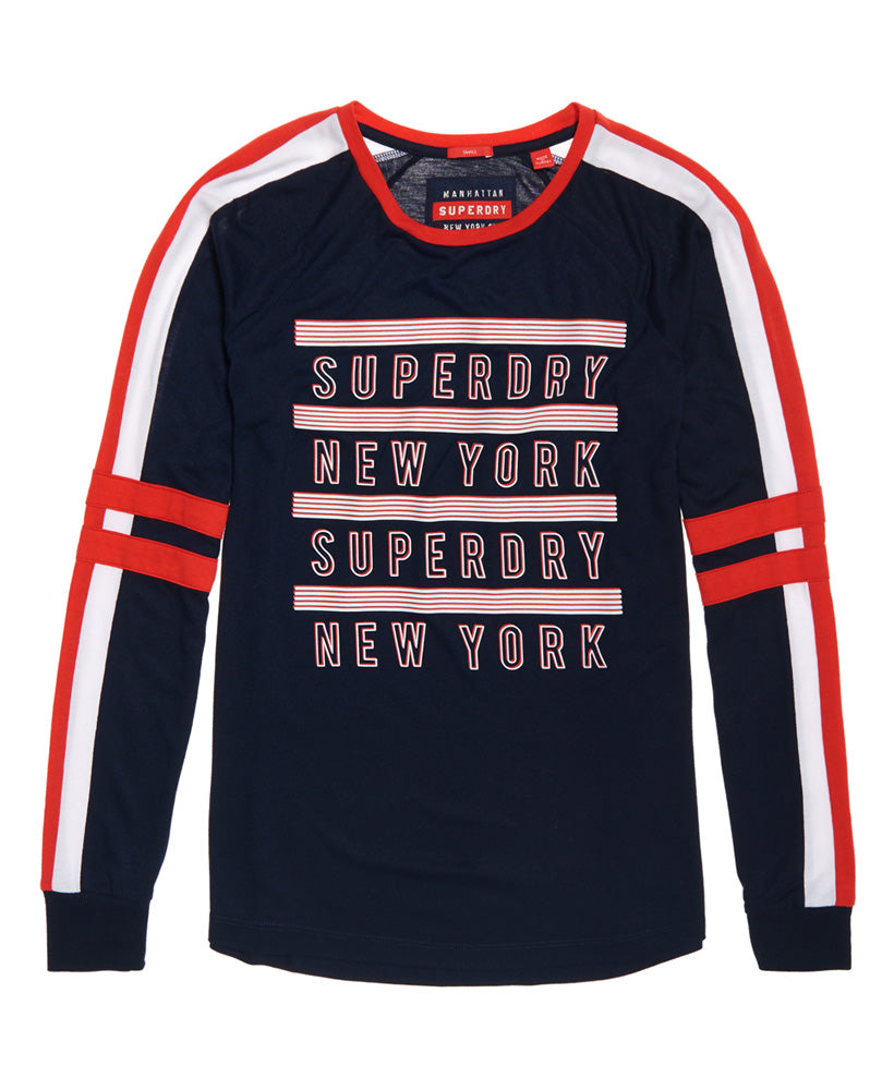 Pacific Baseball Top by Superdry Womens
