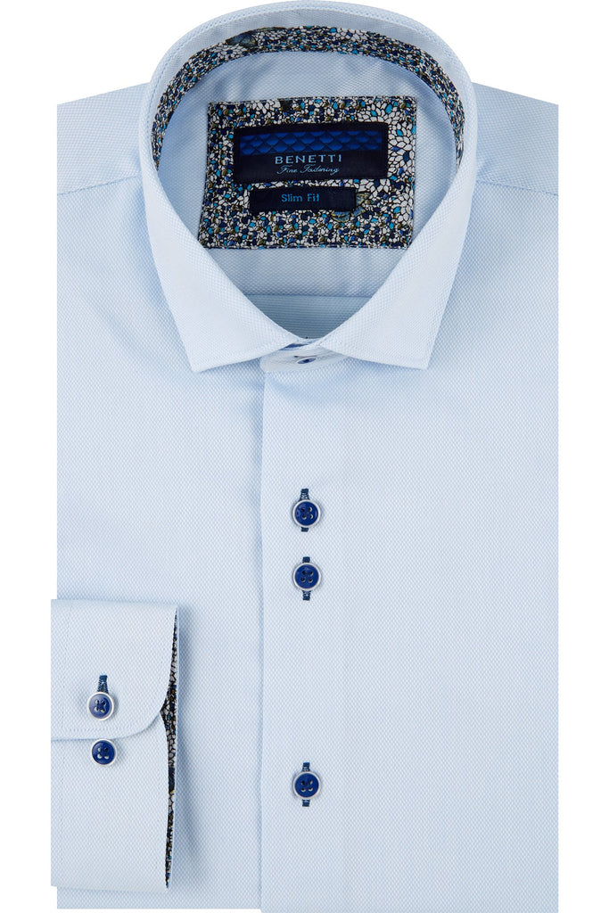 Portland White Slim Fit Shirt