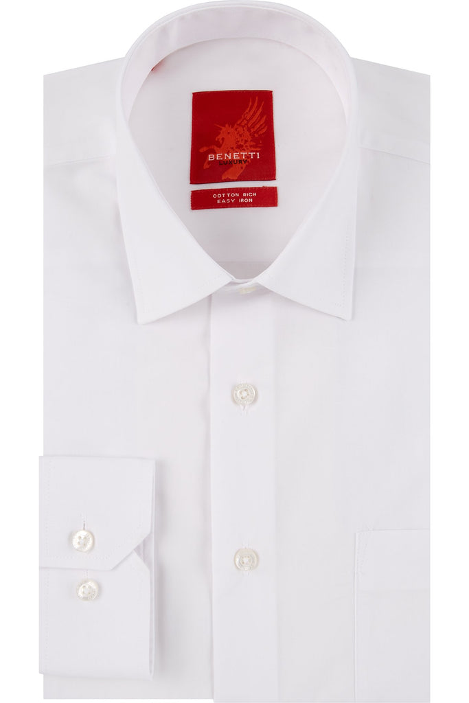 Classic Formal Regular Fit White Shirt