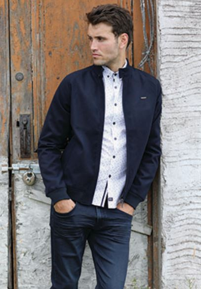 Ryle Harrington Style Navy Jacket.