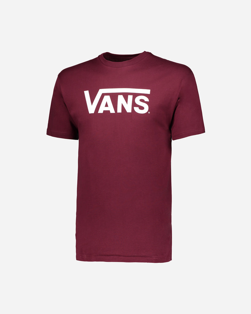 Classic Burgandy/White Tee by Vans