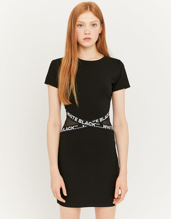 Black Bodycon Women's Dress