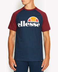 Ellesse Cassina-T-Shirt-Navy-Shy00629