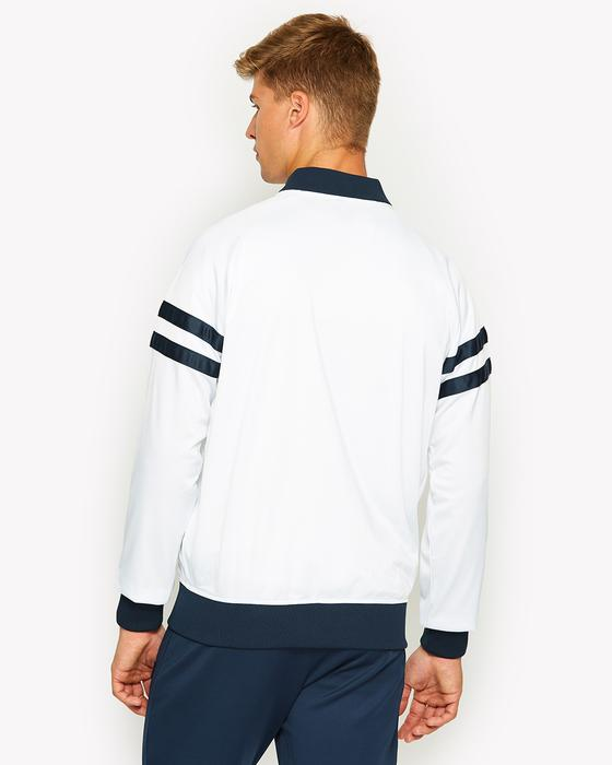 Romeo White Track Top by Ellesse