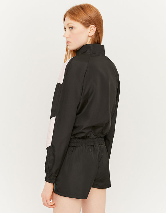 Cropped Windbreaker bck