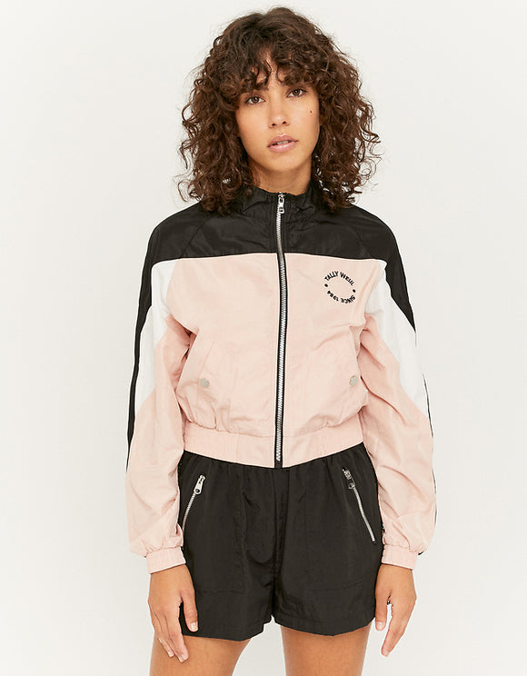 Women's Color block Windbreaker Jacket
