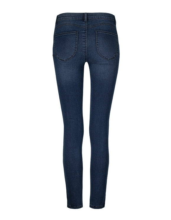 Soft Touch Push Up Jeans_back