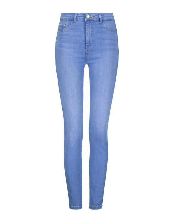 Women's High Waist Skinny Spaderana Blue 020 Jeans