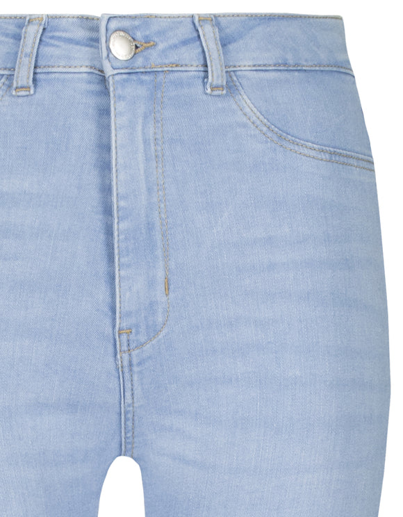 Tally Weijl High Waist Shinny Stretch Spaderana8 Blue013 Women's Jeans
