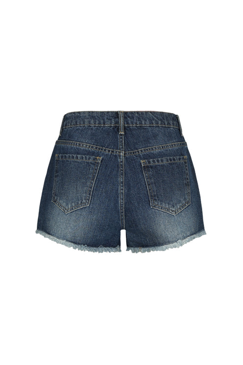 High Waist Shorts_back