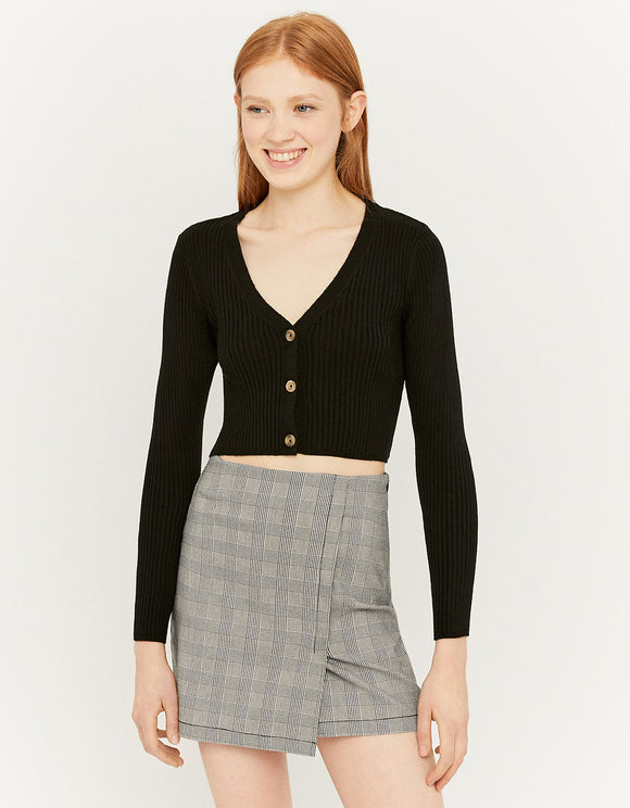 Women's Check Mini Skirt