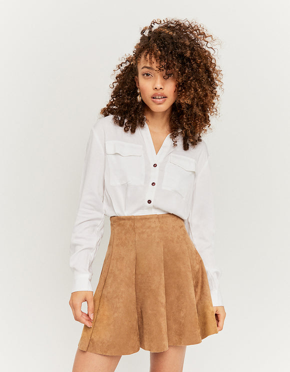 Beige Skater Women's Skirt by Tally Weijl