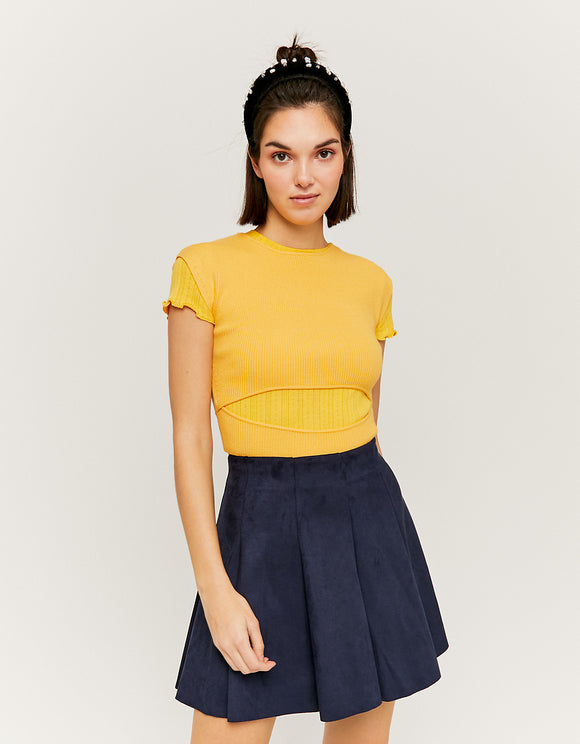 Navy Skater Women's  Skirt by Tally Weijl