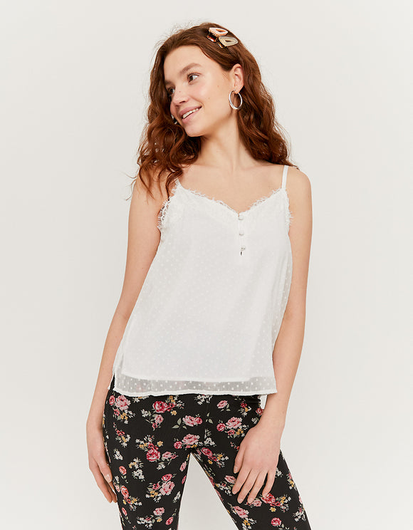 Tank Top with Lace