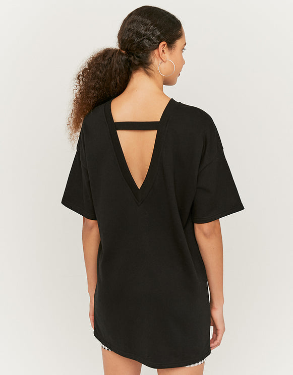 Women's Black Sweat Dress