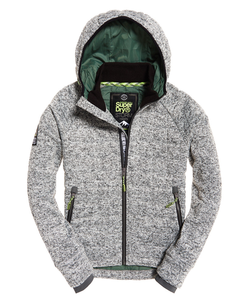 By Ziphood Grey Quilted Spirit Clothing Storm Superdry – SWCtxqwOn