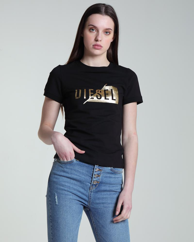 Eduina Black Short Sleeve Women's Tee