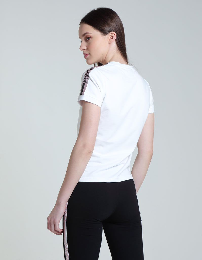 Alannah White  Short sleeve Tee