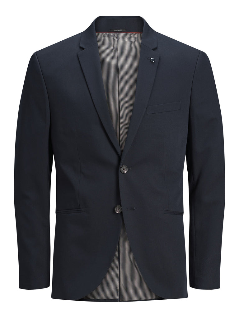 Vincent Super Slim Dark Navy Blazer by Jack & Jones Premium