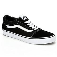Ward Black & White Trainer by Vans