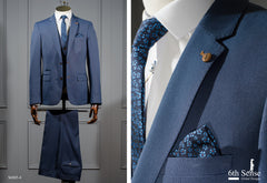 Zidane 3 Piece Steel Suit by 6th Sense