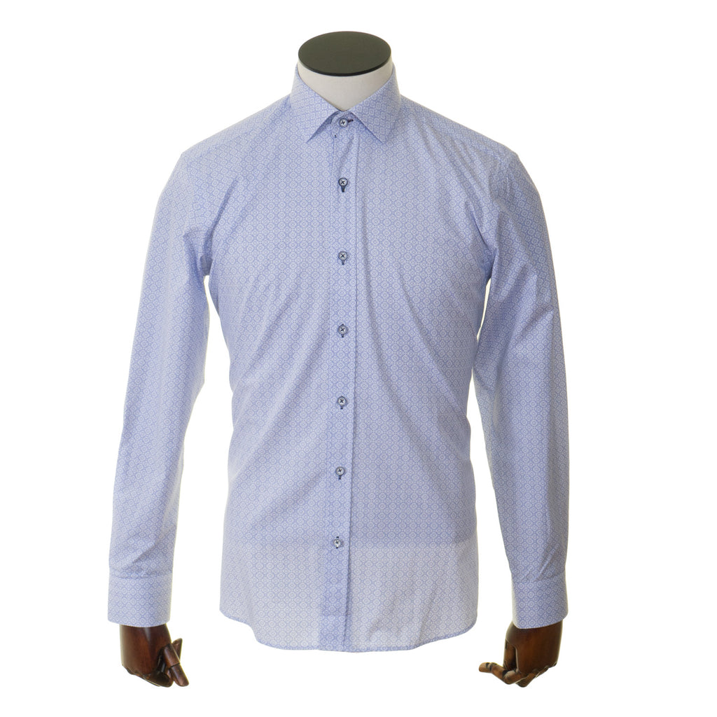 Blue Pattern Advise Shirt