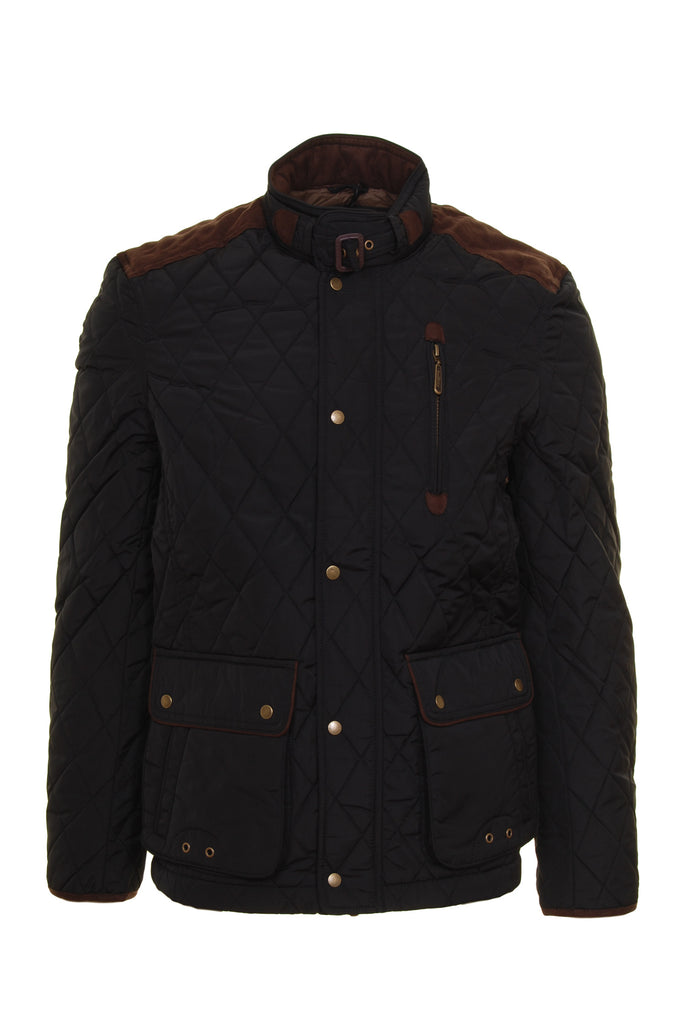 Aintree Black Padded Jacket  by 6th Sense - Front