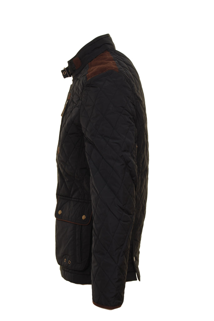 Aintree Black Padded Jacket  by 6th Sense - Side
