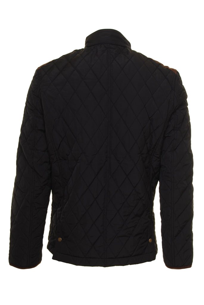 Aintree Black Padded Jacket  by 6th Sense - Back