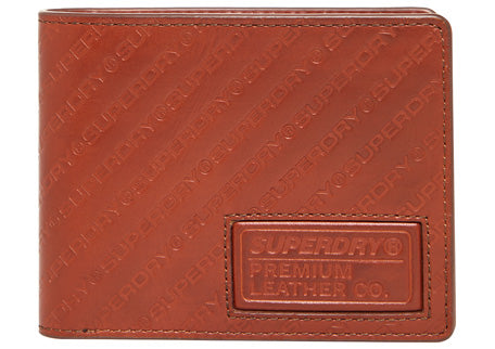 Aop Badge Lineman Wallet by Superdry