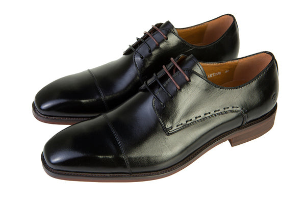 Arthur Mens Black Shoe