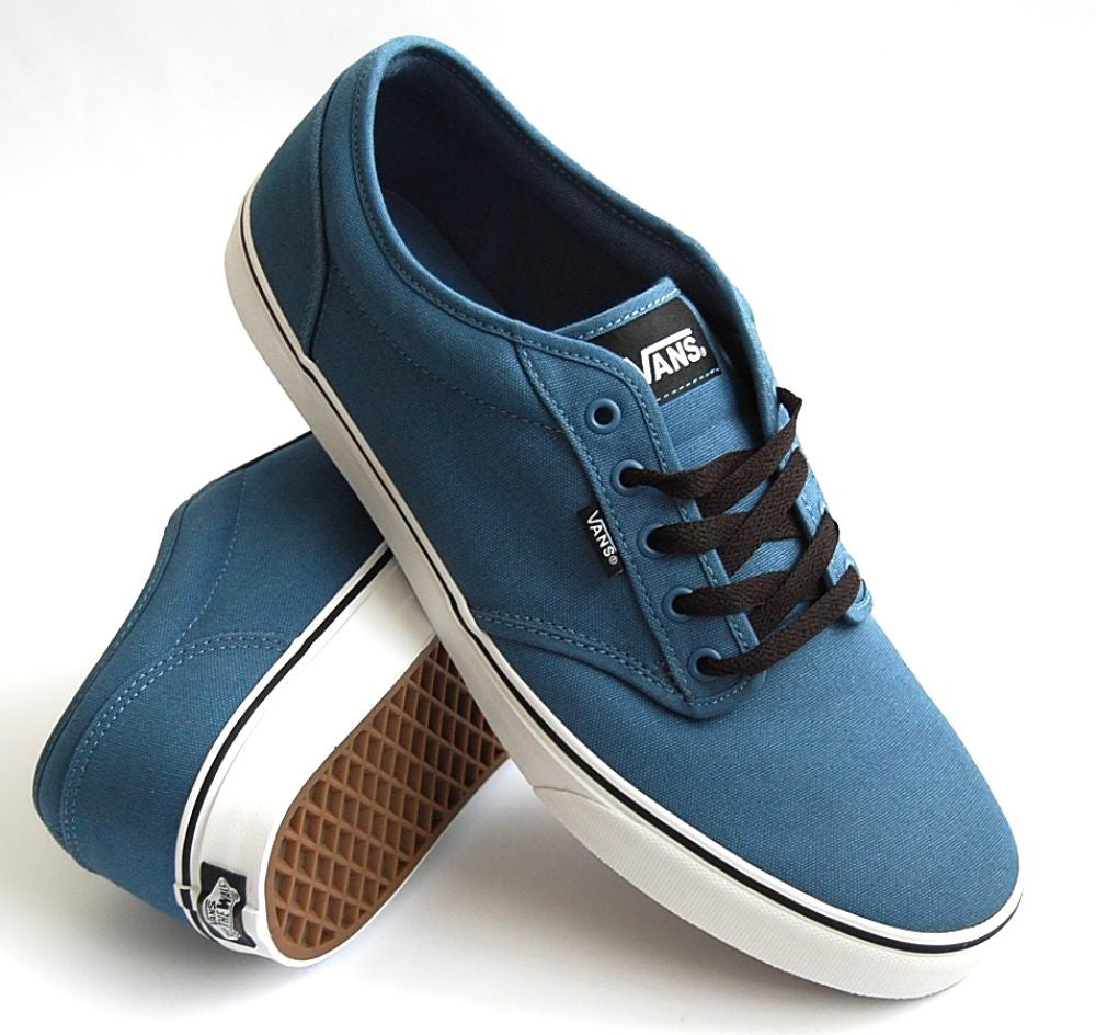 a2bd65bfe65 Vans Atwood Canvas Blue Ashes White – Spirit Clothing