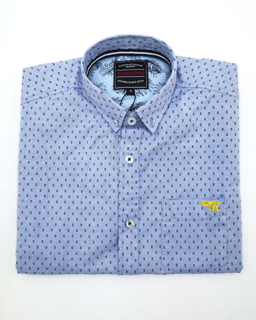 Austen Short Sleeve Shirt Sky Blue
