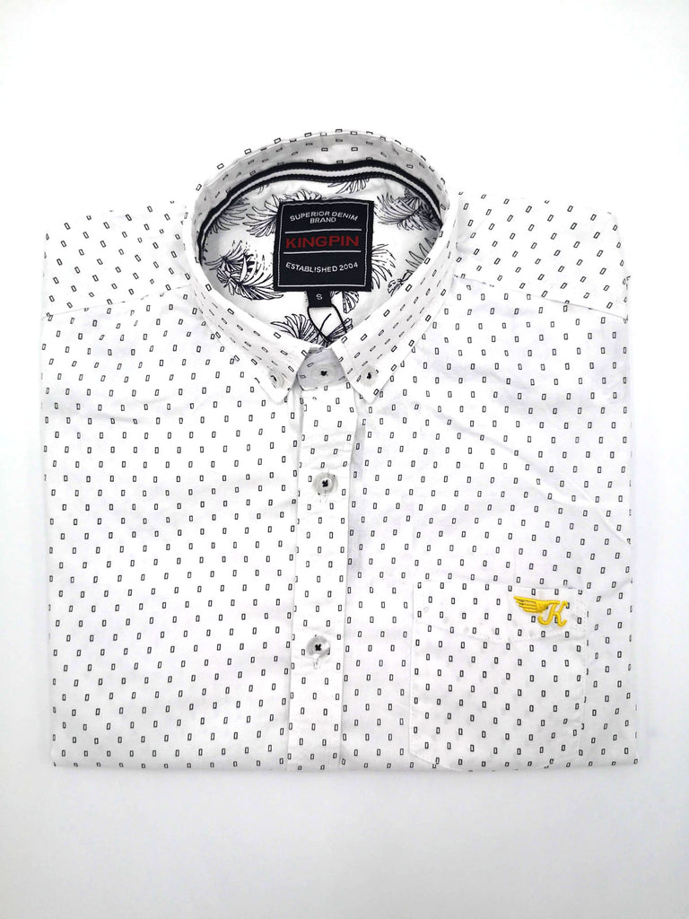 Austen Short Sleeve Shirt White