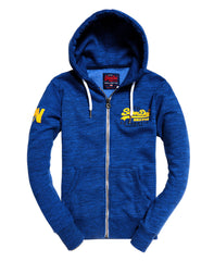 Vintage Authentic Duo Ziphood Cobalt Grit by Superdry